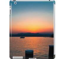 Sunset over Lake Garda iPad Case/Skin
