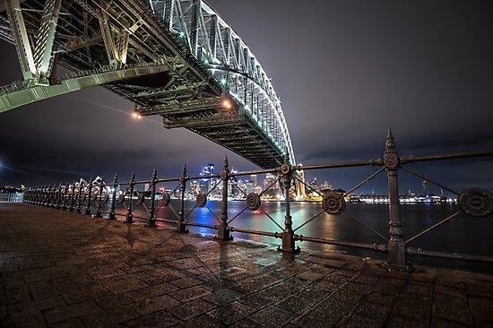 Sydney Harbor Bridge by mellosphoto