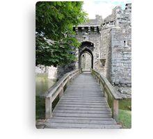 Beaumaris Castle Bridge Canvas Print