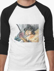 collapsed Men's Baseball ¾ T-Shirt