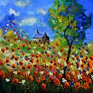 Red poppies 88 by calimero