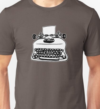 Old Typewriter Unisex T-Shirt