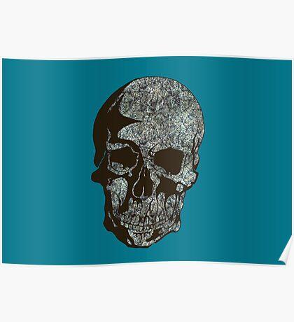 Skull Pollock Poster