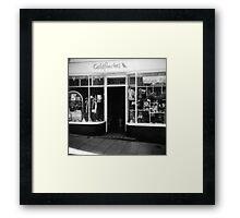 Vintage Fashion Framed Print
