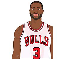 D-Wade! Photographic Print