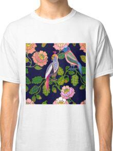 Paradize birds. Kimono motifs. Classic T-Shirt
