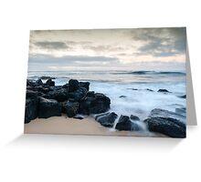 Poipu beach in Kauai, Hawaii. Greeting Card