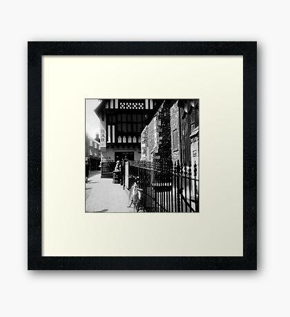Pottergate  Framed Print
