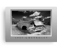 Abandoned 1957 Chevy Canvas Print