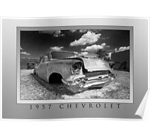 Abandoned 1957 Chevy Poster