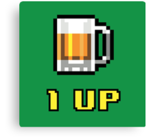 1UP Beer Canvas Print