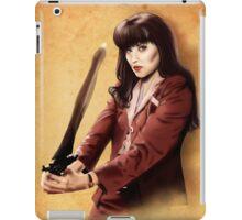 Xena scrolls iPad Case/Skin