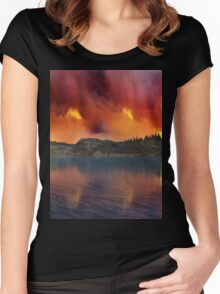 Fantasy Sunset 11 Women's Fitted Scoop T-Shirt