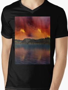 Fantasy Sunset 11 Mens V-Neck T-Shirt