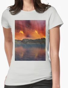 Fantasy Sunset 11 Womens Fitted T-Shirt