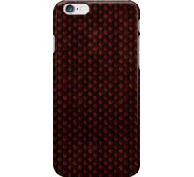Red Dragon Scale iPhone Case/Skin