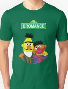 The Bromance of Ernie & Bert Unisex T-Shirt