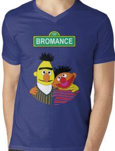 The Bromance of Ernie & Bert Mens V-Neck T-Shirt