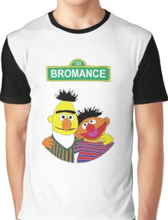 The Bromance of Ernie & Bert Graphic T-Shirt
