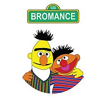 The Bromance of Ernie & Bert Photographic Print