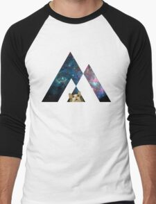 Abstract cat in space - version 1 Men's Baseball ¾ T-Shirt