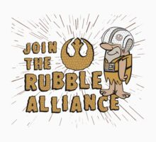 Join The Rubble Alliance Kids Tee