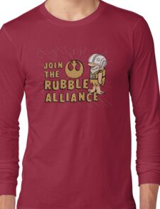 Join The Rubble Alliance Long Sleeve T-Shirt