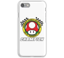 Mushroom Cup Champion iPhone Case/Skin