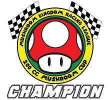 Mushroom Cup Champion Photographic Print