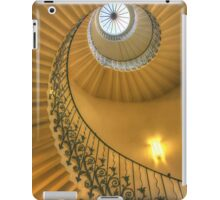 The Tulip Staircase, The Queen's House, Greenwich, London iPad Case/Skin