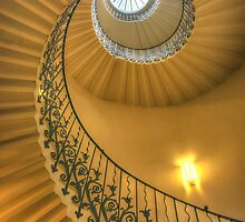 The Tulip Staircase, The Queen's House, Greenwich, London by paulrhelsby