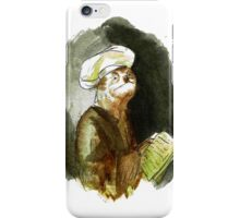 Self-portrait as the Apostle Sloth iPhone Case/Skin