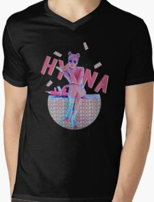HYUNA Mens V-Neck T-Shirt
