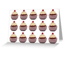 Knitted Cupcake Greeting Card