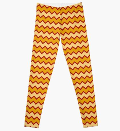 Charlie Brown Zig Zag Pattern Leggings