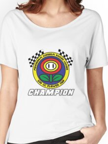 Flower Cup Champion Women's Relaxed Fit T-Shirt