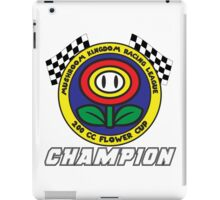 Flower Cup Champion iPad Case/Skin