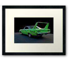 1970 Plymouth Road Runner Superbird 2 Framed Print
