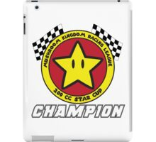 Star Cup Champion iPad Case/Skin