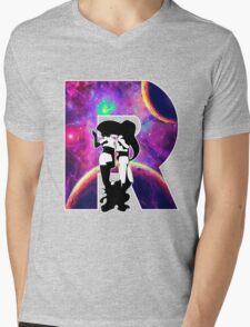 Double Trouble Mens V-Neck T-Shirt