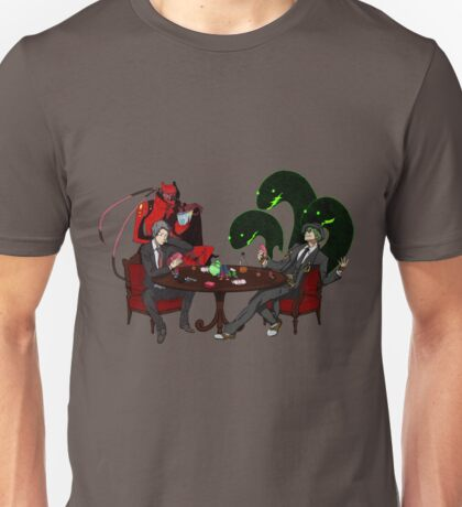 Playing some Go Fish Unisex T-Shirt
