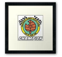 Leaf Cup Champion Framed Print