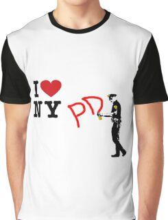 I Love NY (PD) Graphic T-Shirt