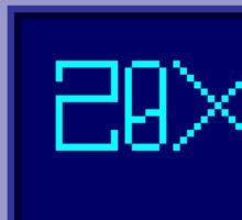 20XX Sticker