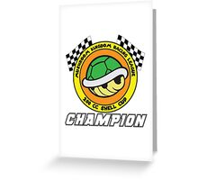 Shell Cup Champion Greeting Card