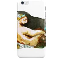 The Sloth Odalisque iPhone Case/Skin