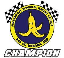 Banana Cup Champion Photographic Print
