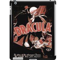 the vampire iPad Case/Skin
