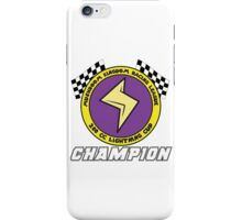 Lightning Cup Champion iPhone Case/Skin