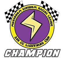 Lightning Cup Champion Photographic Print